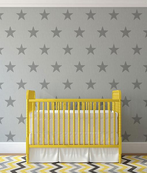 Gwiazdki na ścianę