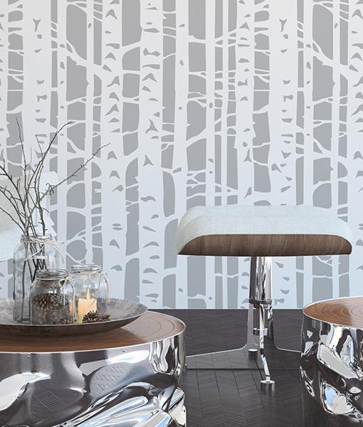 birch stencil