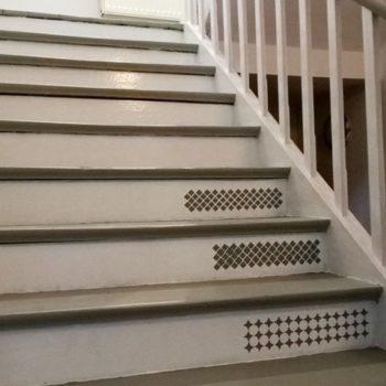 szablony do scrapbookingu na schodach