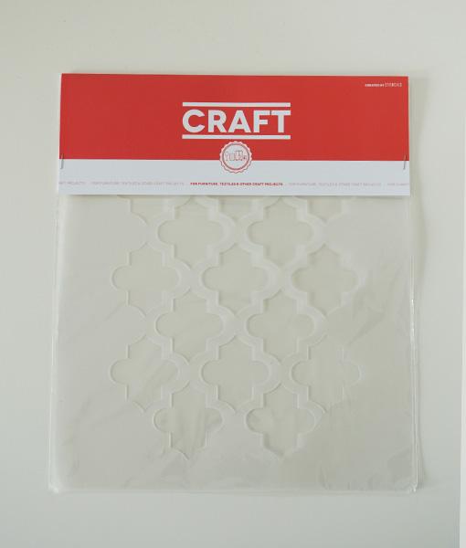 Szablon wielorazowy na meble Craft