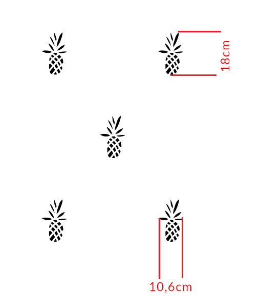 szablon-na-ścianę-ananas---03