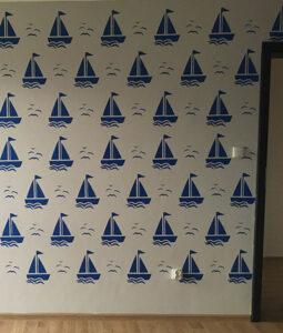 ships stencils