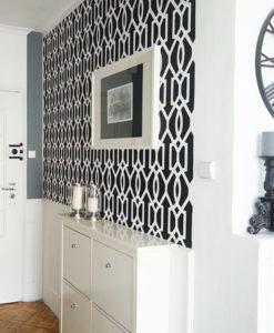 czarno biały szablon w stylu new york + boazeria