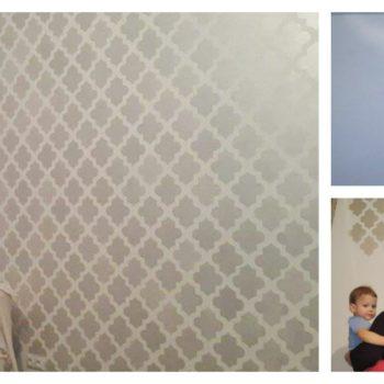 szablon marrakech na ścianie