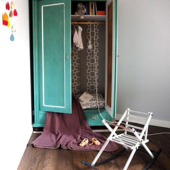 malowanie mebli szablonem malarskim