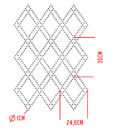 vest szablon geometryczny kropki groszki kropeczki romby 3