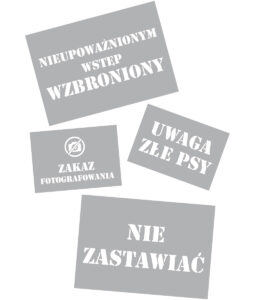 Czcionka Stencil