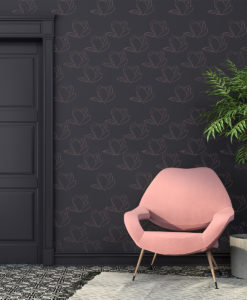 Szablon malarski kwiat, magnolia na ścianę