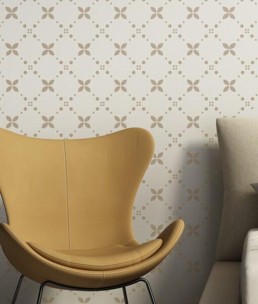 Szablon malarski wielorazowy na ścianę