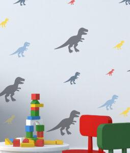 Szablon malarski dinozaury zestaw