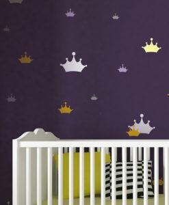 Szablon malarski korony