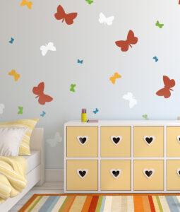 Szablon malarski motyle