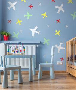 Szablon malarski samoloty dla dzieci zestaw
