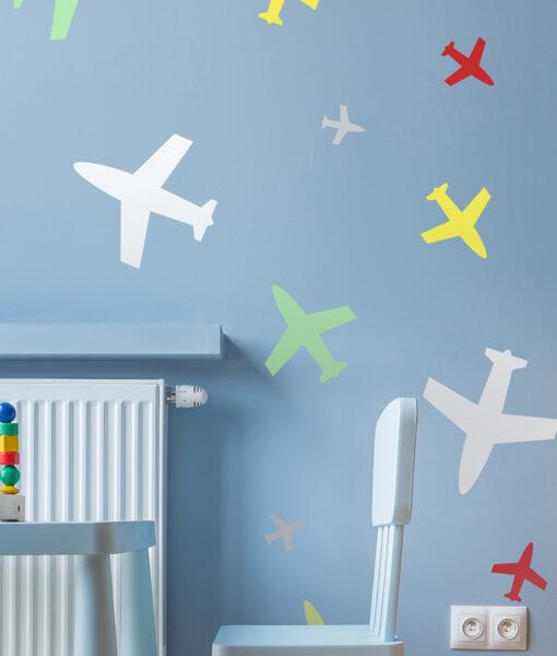 Szablon malarski samoloty dla dzieci