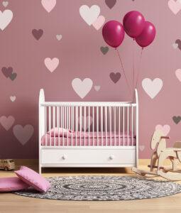Szablon malarski serca dla dzieci